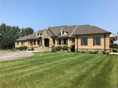 Zionsville Single Family Home For Sale: 8346 East 550 S