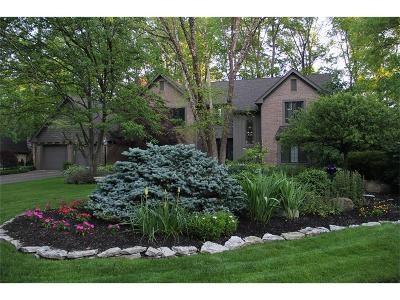 Zionsville IN Single Family Home For Sale: $515,000