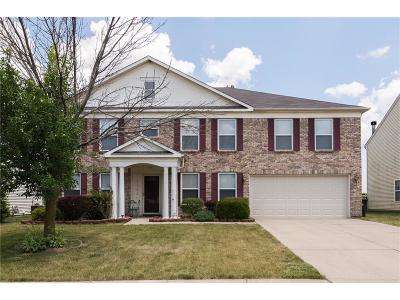 Mc Cordsville Single Family Home For Sale: 5761 North Rockingham Lane