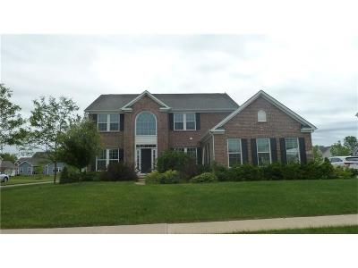Zionsville Single Family Home For Sale: 11423 Mears Drive