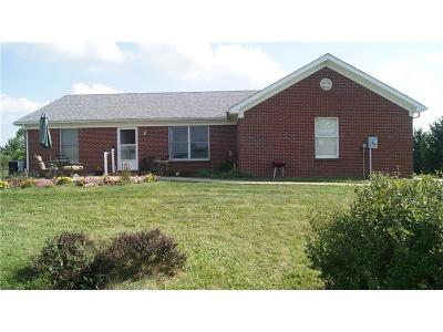 Clinton County Single Family Home For Sale: 4908 West County Road 700 S