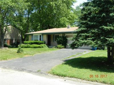 Marion County Single Family Home For Sale: 5981 North Northland Road