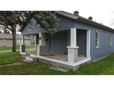 Indianapolis Single Family Home For Sale: 4102 East Spann Avenue