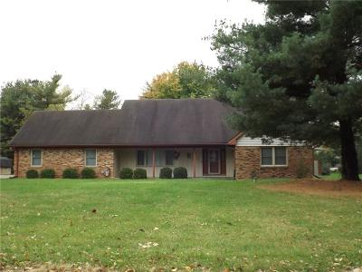 Shelbyville Single Family Home For Sale: 2851 North Fleming Circle