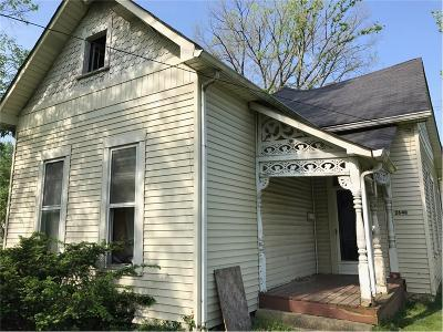 Indianapolis Single Family Home For Sale: 2648 South Meridian Street