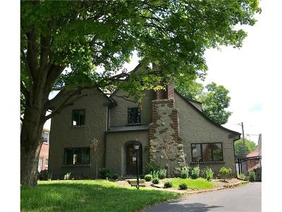 Single Family Home For Sale: 5353 North Delaware Street