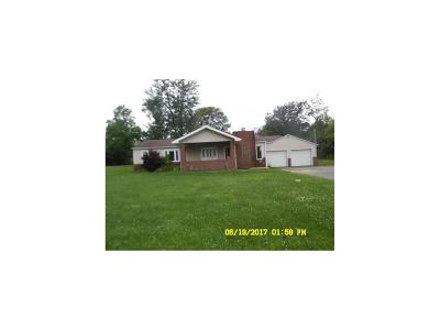Delaware County Single Family Home For Sale: 10291 North Sharpbend Road