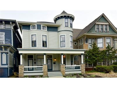 Indianapolis Multi Family Home For Sale: 1471-1473 North Delaware Street