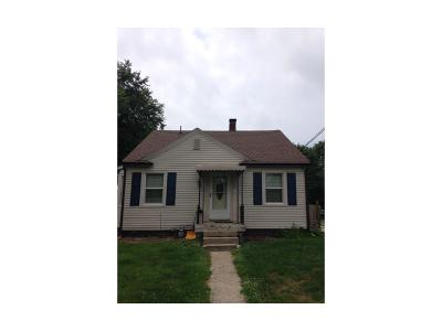 Brownsburg Single Family Home Active W Contingency: 110 South Jefferson Street