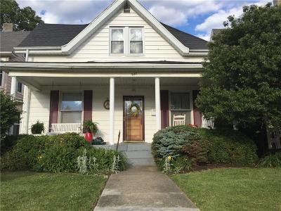 Rushville Single Family Home For Sale: 920 Morgan