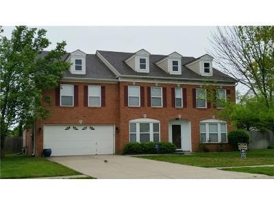 Mc Cordsville Single Family Home For Sale: 5912 North Rockingham Lane
