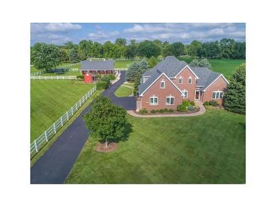 Noblesville Single Family Home For Sale: 15900 Hazel Dell Road