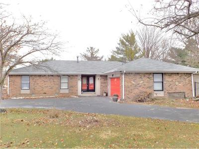Zionsville Single Family Home For Sale: 545 Zion Lane