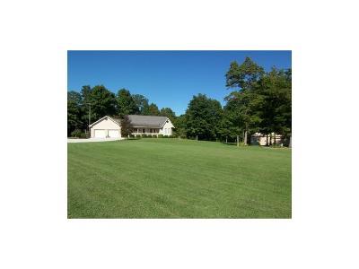 Parke County Single Family Home For Sale: 10124 East Vinzant Road