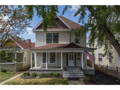 Indianapolis Single Family Home For Sale: 2226 North Talbott Street