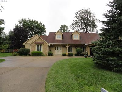Anderson Single Family Home For Sale: 3812 Blue Grass Court