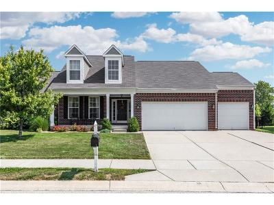 Brownsburg Single Family Home Active W Contingency: 1461 Berry Lake Way