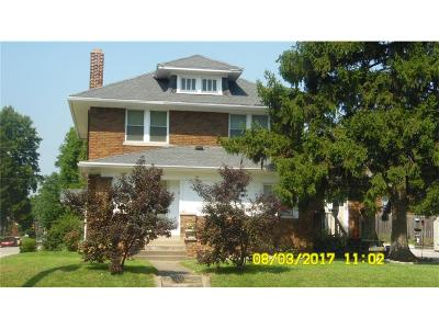 Indianapolis Single Family Home For Sale: 2344 Shelby Street