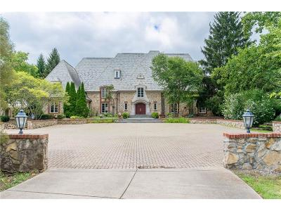 Carmel IN Single Family Home For Sale: $1,750,000