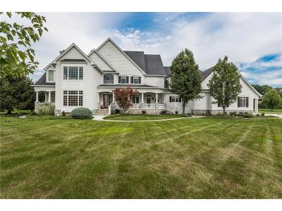 Zionsville Single Family Home For Sale: 11527 Willow Ridge Drive