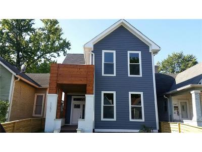 Indianapolis Single Family Home For Sale: 1151 Hoyt Avenue