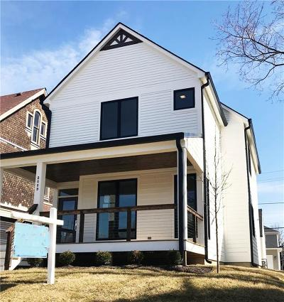 Single Family Home For Sale: 2009 North Pennsylvania Street