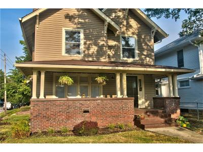 Indianapolis IN Single Family Home For Sale: $220,000