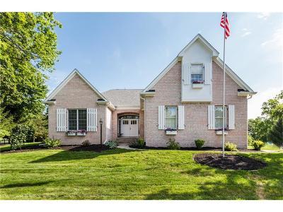 Zionsville Single Family Home For Sale: 1348 Sullivans Ridge