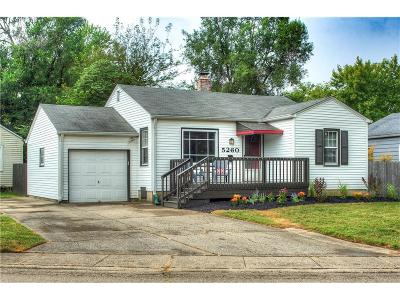 Indianapolis Single Family Home For Sale: 5260 North Kingsley Drive