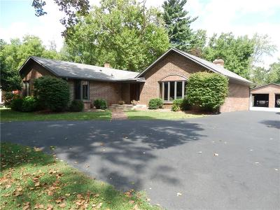 Marion County Single Family Home For Sale: 3532 East Southport Road