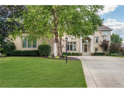 Carmel, Westfield Single Family Home For Sale: 12330 Bayhill Drive