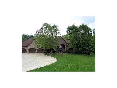 Clay County Single Family Home For Sale: 9509 North County Road 50 E