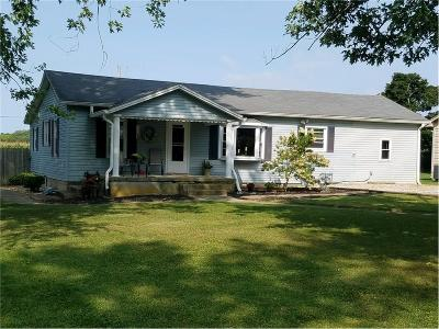 Rushville Single Family Home Active W Contingency: 1397 South Baker Street