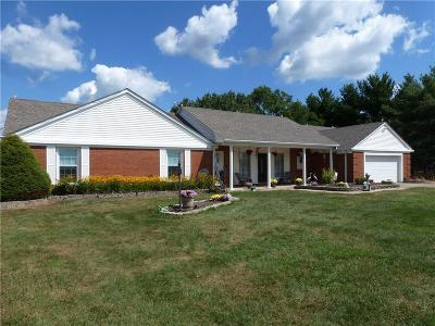 Madison County Single Family Home For Sale: 6204 West St Rd 32