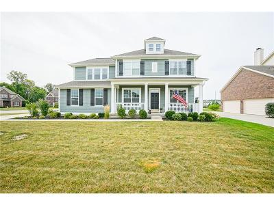 Zionsville Single Family Home For Sale: 9213 Brookstone Place