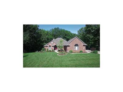 Brownsburg Single Family Home For Sale: 14 Ridgeline Drive