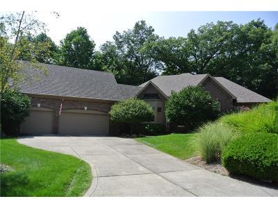 Boone County, Clinton County, Hamilton County, Hendricks County, Madison County Condo/Townhouse For Sale: 219 Winterhaven Drive