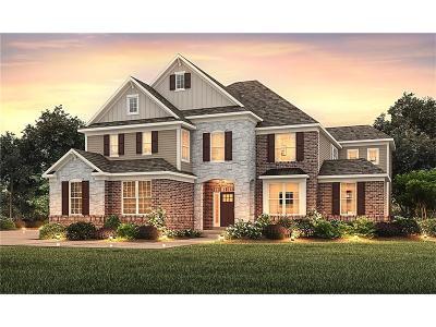 Carmel Single Family Home For Sale: 3380 Shelborne Woods Parkway
