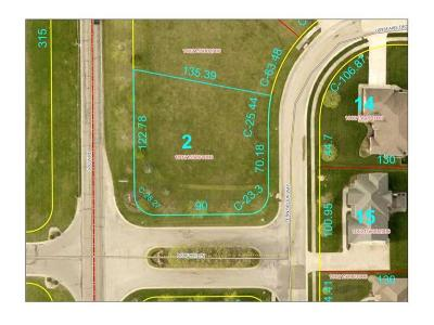 Delaware County Residential Lots & Land For Sale: Lot 2 Fern Brook Way