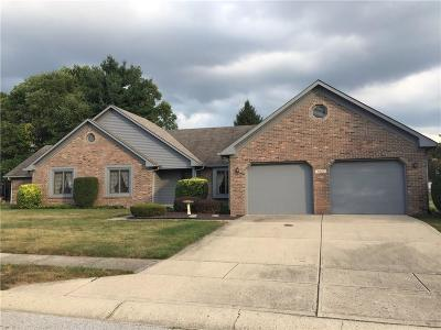 Plainfield Single Family Home For Sale: 7827 Austin Court