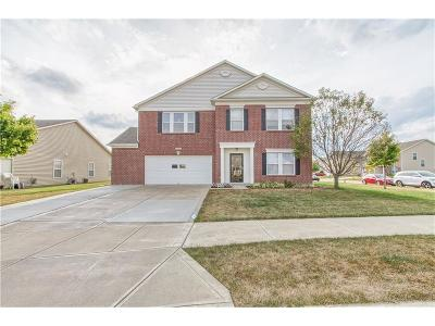 Brownsburg Single Family Home Active W Contingency: 6808 Eagle Crossing