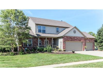 Fishers Single Family Home For Sale: 10614 Brixton Lane