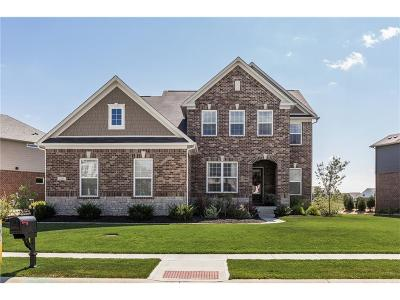 Zionsville Single Family Home For Sale: 2781 West High Grove Circle