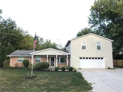 Zionsville Single Family Home For Sale: 633 Lakeview Drive