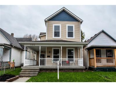 Indianapolis Single Family Home For Sale: 1143 Hoyt Avenue