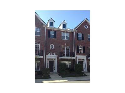 Fishers Condo/Townhouse For Sale: 8266 Ethan Drive