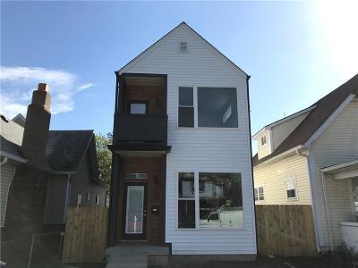Indianapolis Single Family Home For Sale: 1021 Villa Avenue