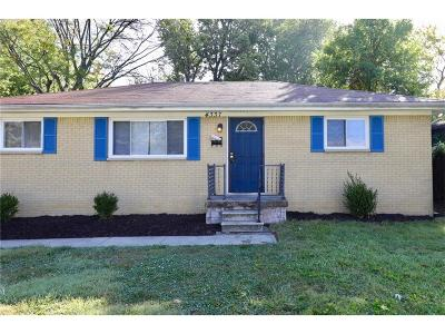 Indianapolis Single Family Home For Sale: 4337 North Audubon Road