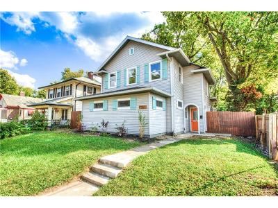 Indianapolis Single Family Home For Sale: 717 East 46th Street