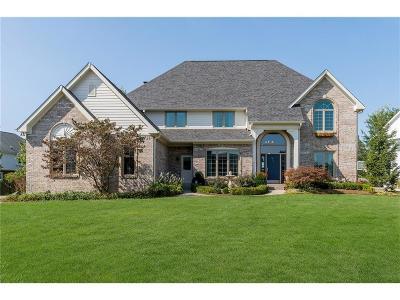 Zionsville Single Family Home For Sale: 1529 Corniche Drive
